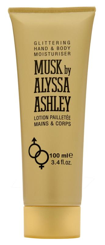Alyssa Ashley Musk Glitter Lotion