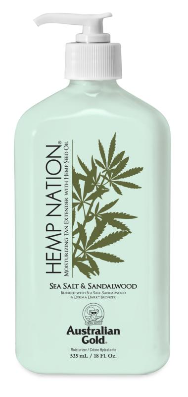 Australian Gold Hemp Nation Sea Salt & Sandalwood Tan Extender