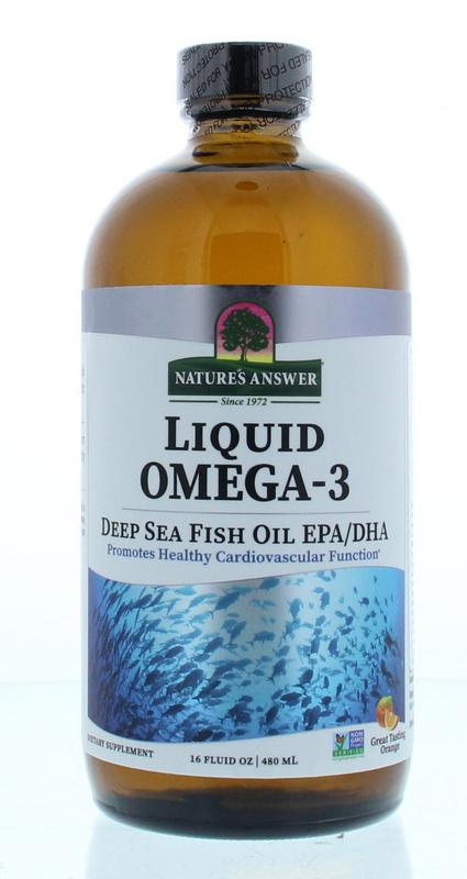 Natures Answer Vloeibaar Omega 3 Dhaepa 1.150 Mg