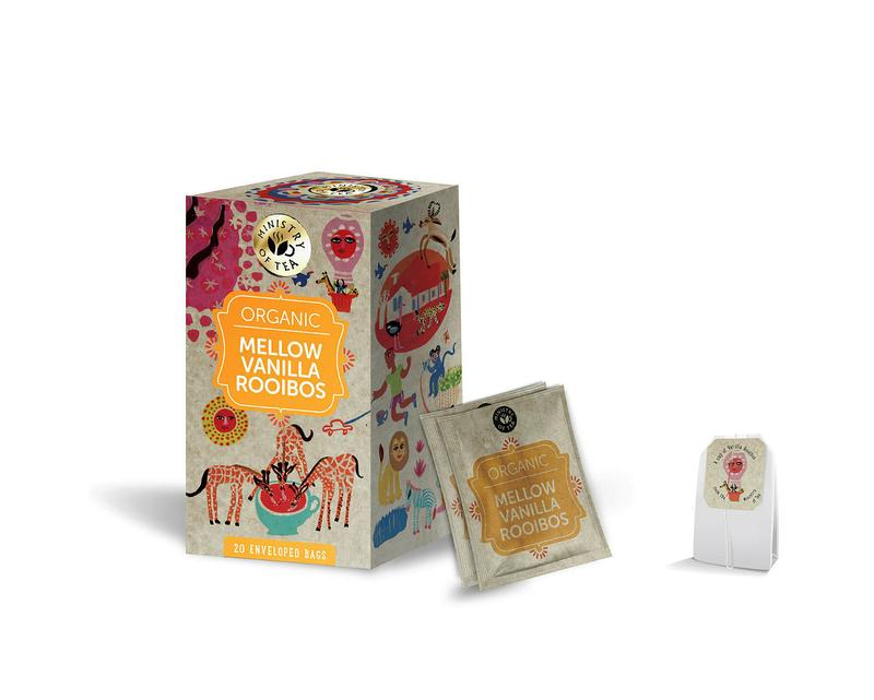 Ministry Of Tea Mellow Vanilla Rooibos Bio