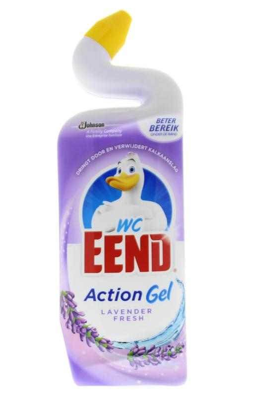 Wc Eend Action Gel Lavendel Fresh