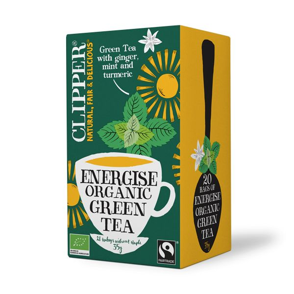Clipper Energise Green Tea