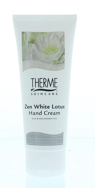 Therme Zen White Lotus Handcreme