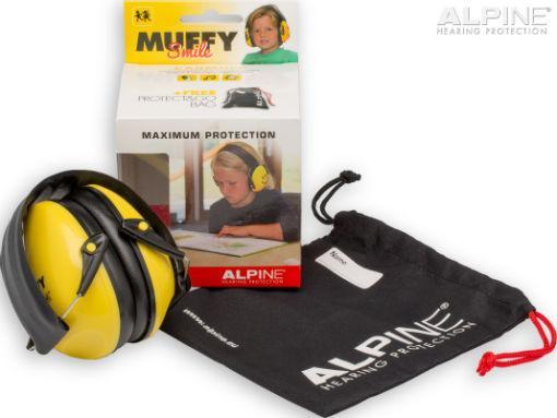 Alpine Muffy Smile gehoorbeschermer voor kinderen