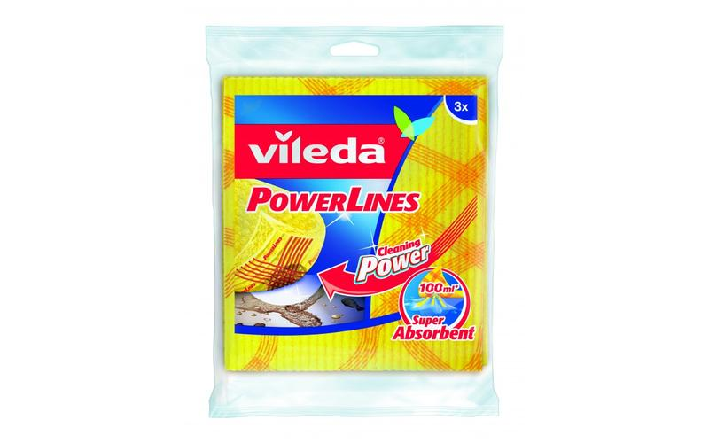 Vileda Sponsdoek Powerlines