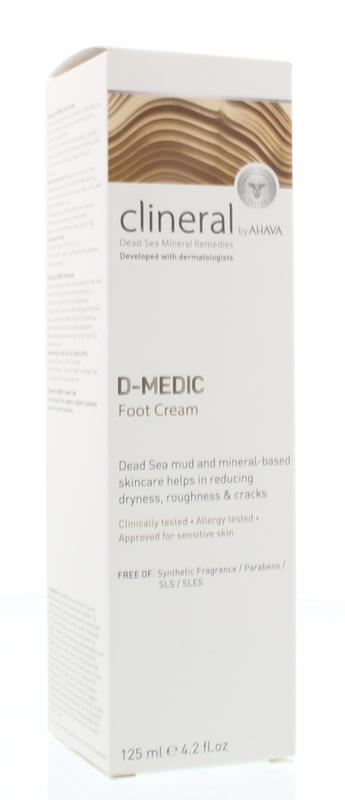 Ahava Clineral D-Medic Foot Cream