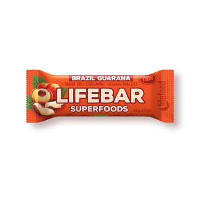 Lifefood Lifebar Plus Brazil Guarana Bio