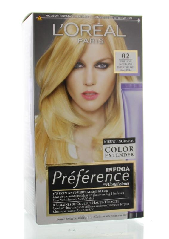 Loreal Preference Blond 02 Goudblond