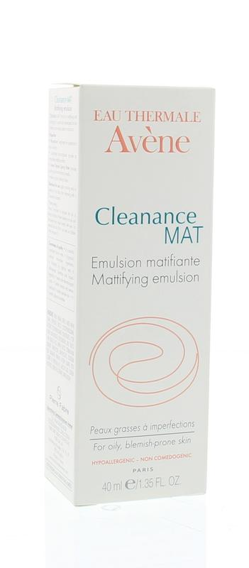 Afbeelding van Avene Cleanance Mattifying Emulsion 40ml