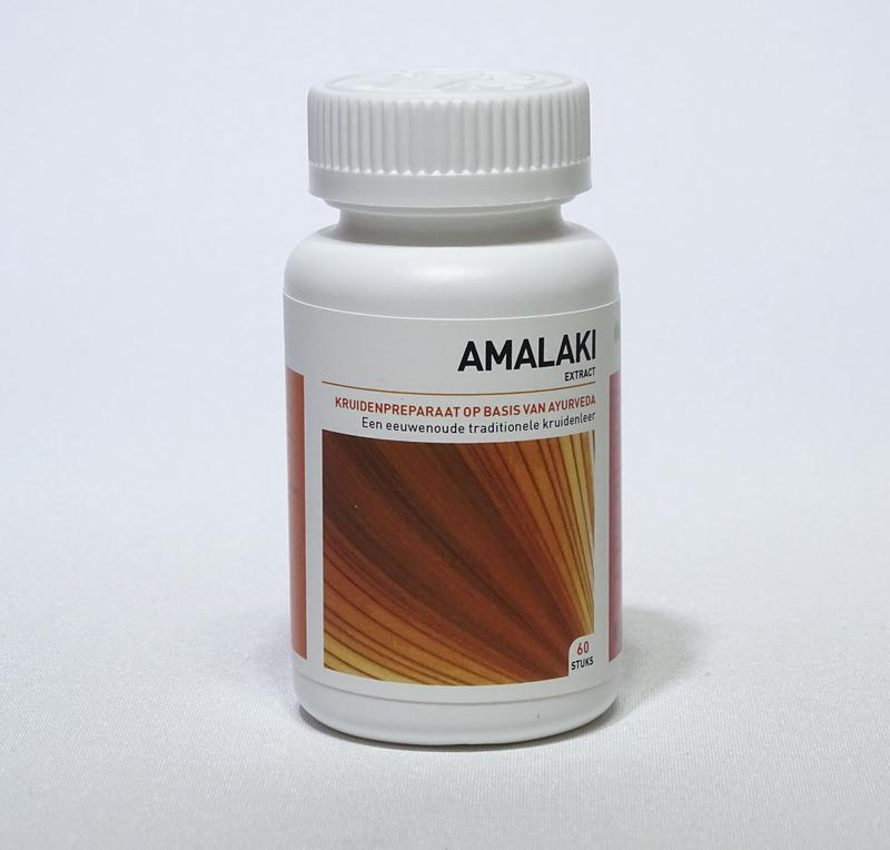 Afbeelding van Ayurveda Health Amalaki Extract Tabletten 60st