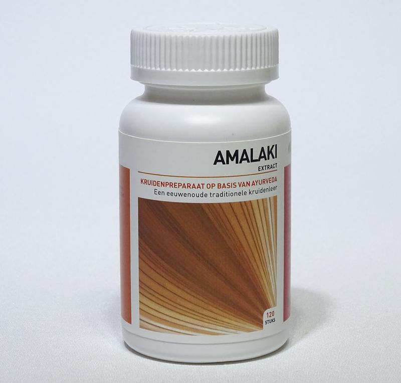 Afbeelding van Ayurveda Health Amalaki Extract Tabletten