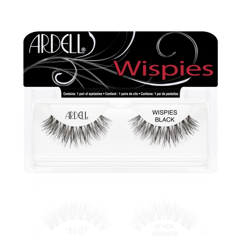 Ardell Kunstwimpers Natural Wispies Zwart