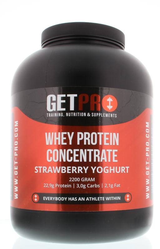 Getpro Whey Protein Concentrate Strawberry Yoghurt
