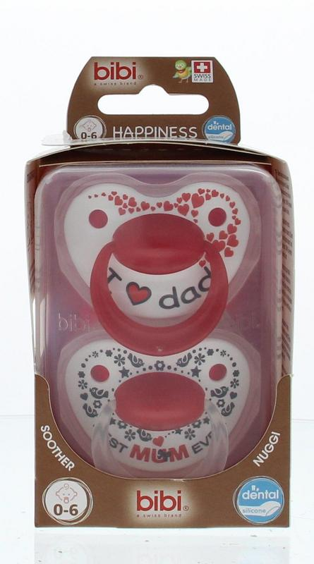 Bibi Happiness Duo Mamapapa 0-6 Maanden