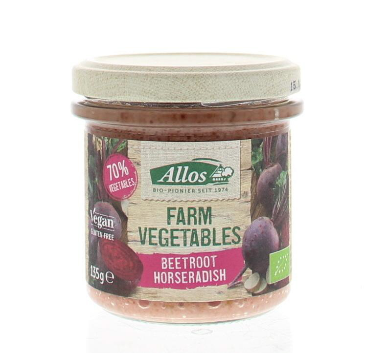 Allos Farm Vegetables Rode Biet & Mierikswortel