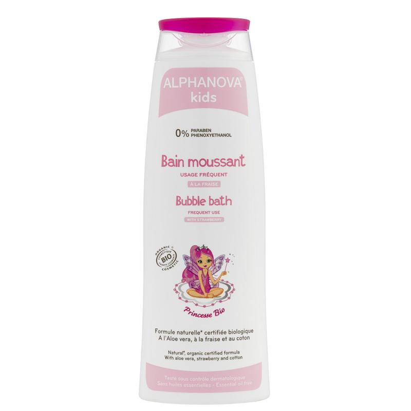 Alphanova Kids Bio Bubble Bath Princess