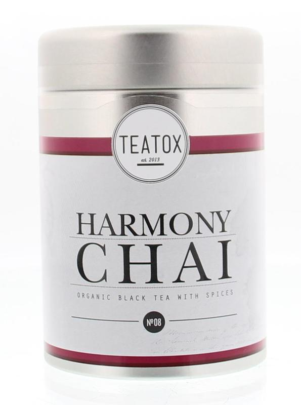 Teatox Harmony Chai Black Tea Spices Bio