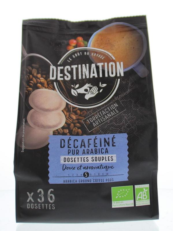 Destination Koffie Decaf Pads